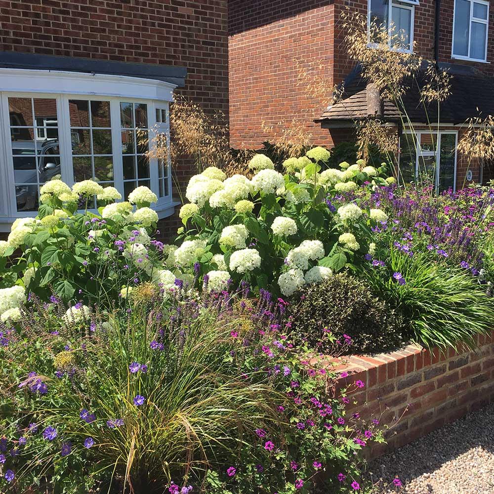front garden design Ashtead