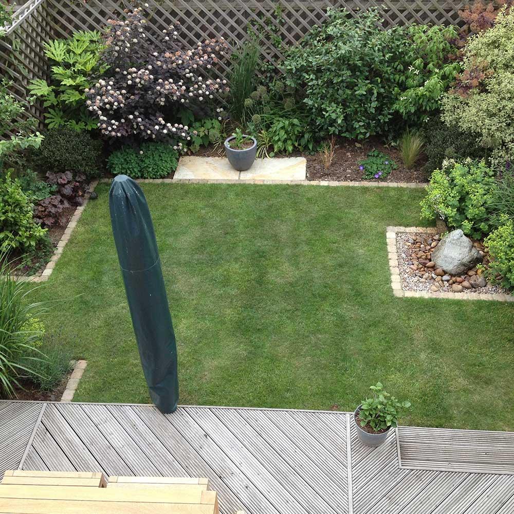 Small garden Worcester Park