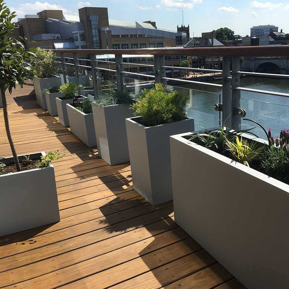 balcony garden design Kingston