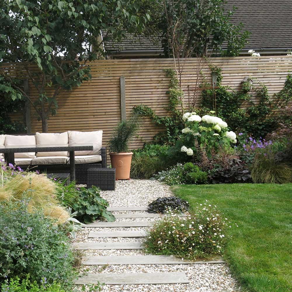 Modern garden, Walton