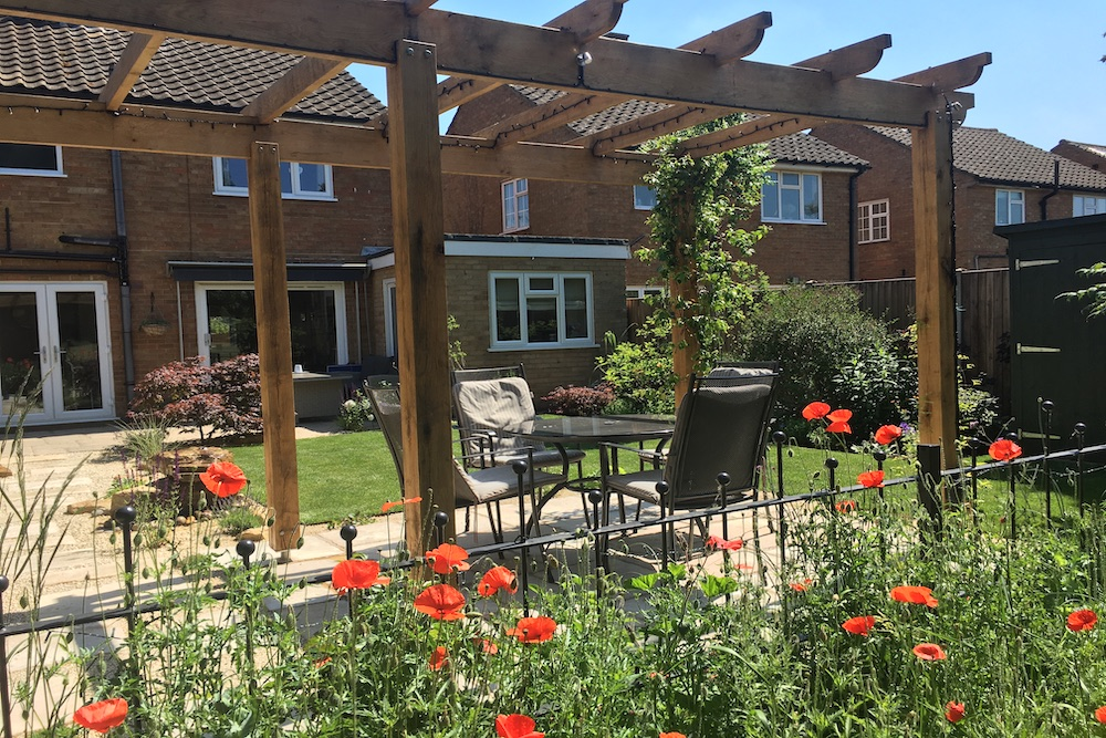 A garden with a view 4, Sunbury