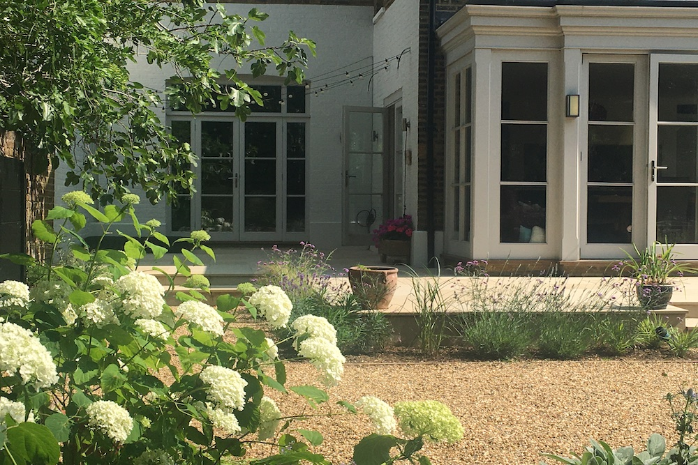 A Terrace to relax and entertain, East Molesey 7