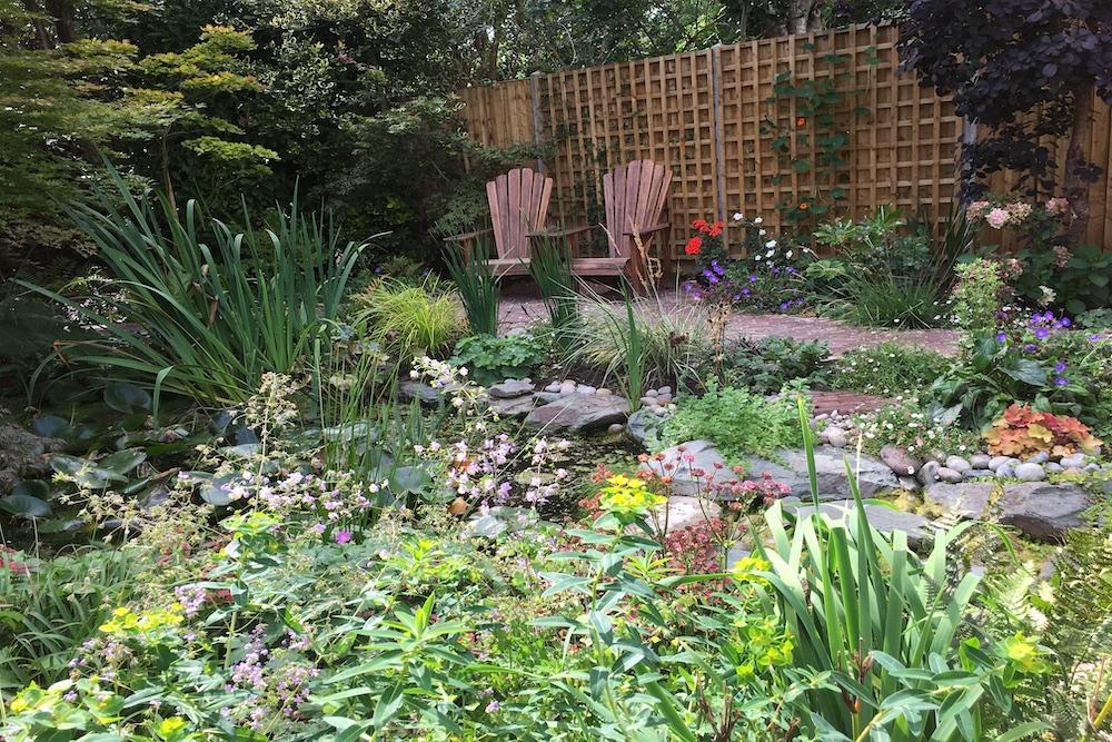 A garden rejuvenation 1, Thames Ditton