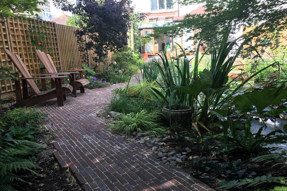 A garden rejuvenation 2, Thames Ditton