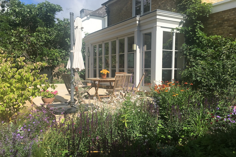 A terrace to relax and entertain, East Molesey 1